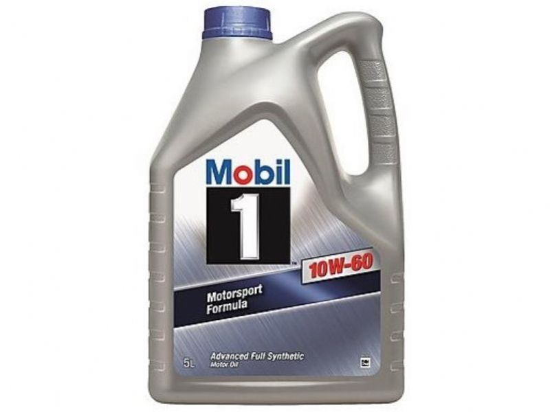 Mobil 1 Motorsport Formula 10W60 Engine Oil Fully Synthetic 5 Litre 151069